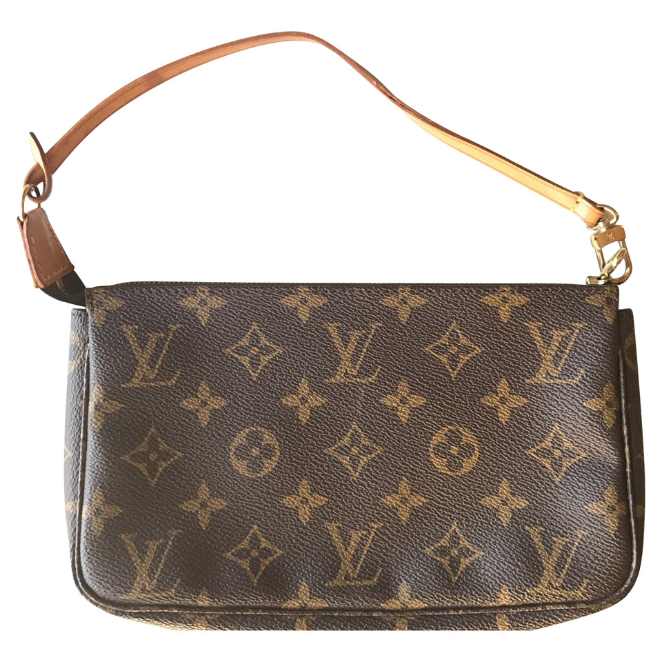 louis vuitton pochette accessory monogram canvas buy second hand louis vuitton pochette. Black Bedroom Furniture Sets. Home Design Ideas