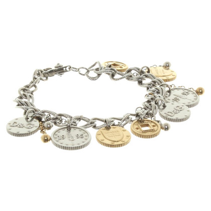 D&G Bettelarmband in Bicolor
