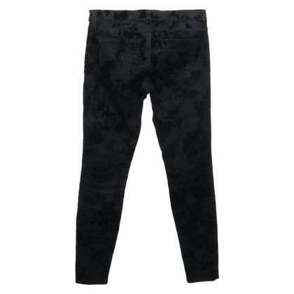 Current Elliott trousers with pattern