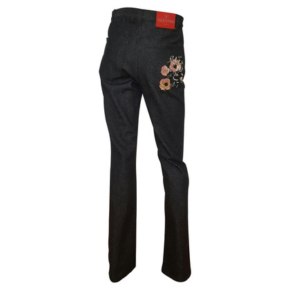 Valentino Jeans with sequin trim