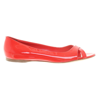 Miu Miu Ballerinas in Red