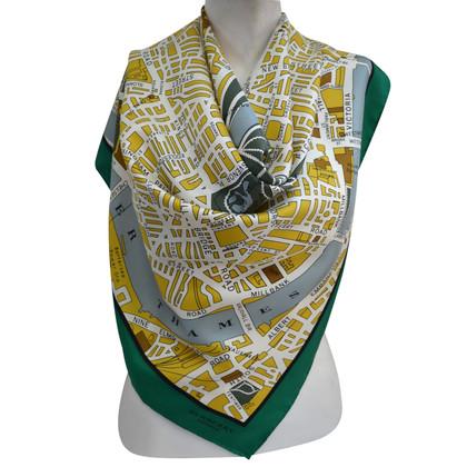 Burberry Prorsum modelli di sciarpa di seta