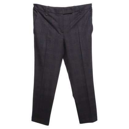Brunello Cucinelli trousers with checked pattern