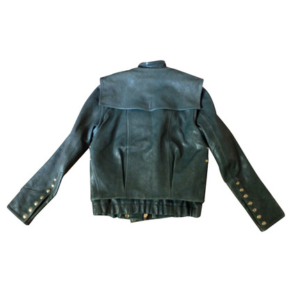 Balmain Biker-Jacke aus Leder