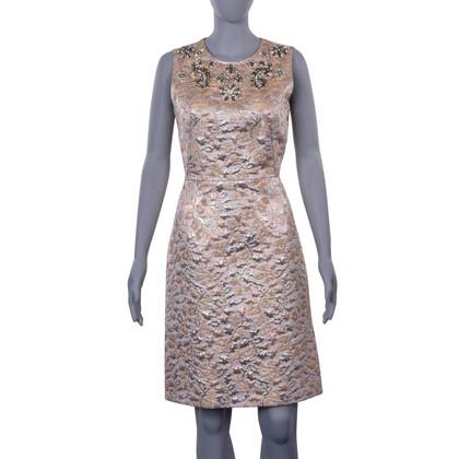 Dolce & Gabbana Jurk in jacquard stof