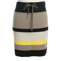 Marc Cain Colorful striped skirt