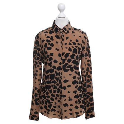 Burberry Camicia con stampa animalier