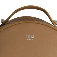 Fendi Studded Leather Backpack