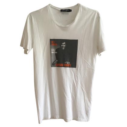 Dolce & Gabbana Dolce & Gabbana Bryan Ferry Tshirt
