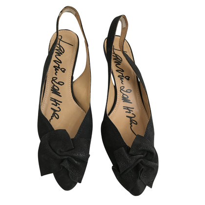 Lanvin Slingback black pumps