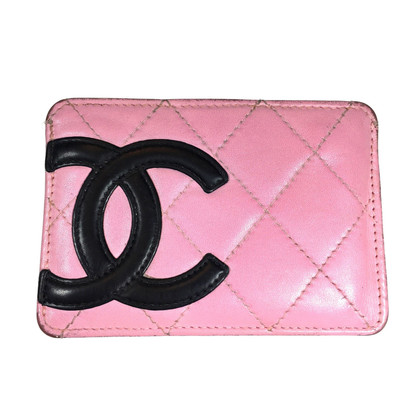 Chanel Credit Card Carbon Leather