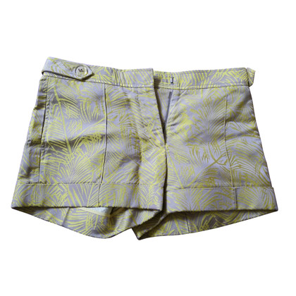 Vera Wang Gold printed shorts