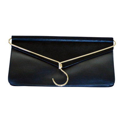 Moschino clutch in nero