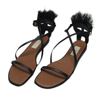 Valentino Valentino Garavani sandal with feathers