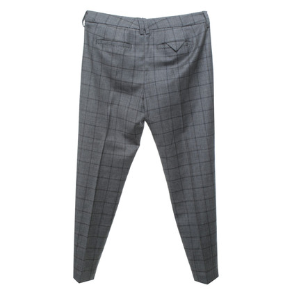 Drykorn trousers with glencheck pattern