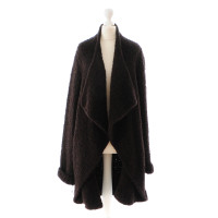 Givenchy Dark brown sweater coat - Buy Second hand Givenchy Dark ...