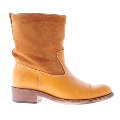 A.P.C. Cognacfarbene Boots