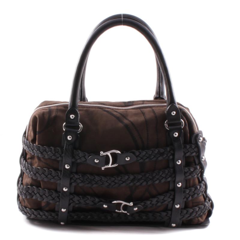 aigner braune handtasche second hand aigner braune handtasche gebraucht kaufen f r 219 00. Black Bedroom Furniture Sets. Home Design Ideas