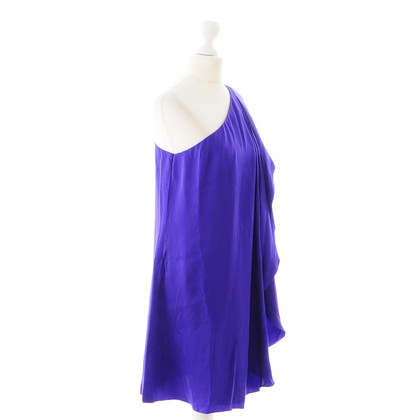 Halston Heritage Silk dress in the asymmetric cut