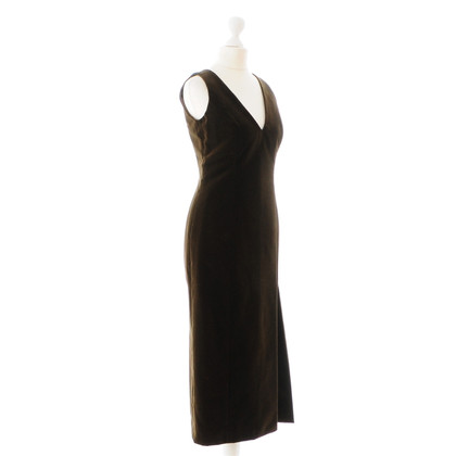 Hugo Boss Brown velvet dress