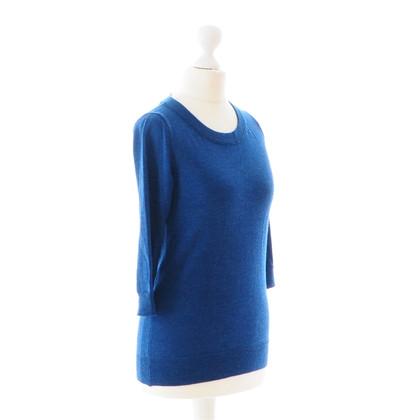 J. Crew Feinstrick Pullover in Blau