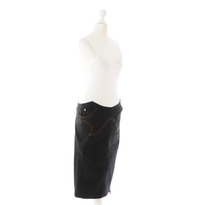 Just Cavalli Black Pencilskirt