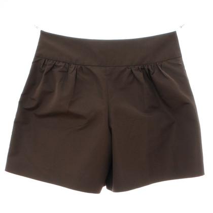 Prada Pantaloncini verde pieghevole