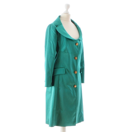 D&G Green satin coat