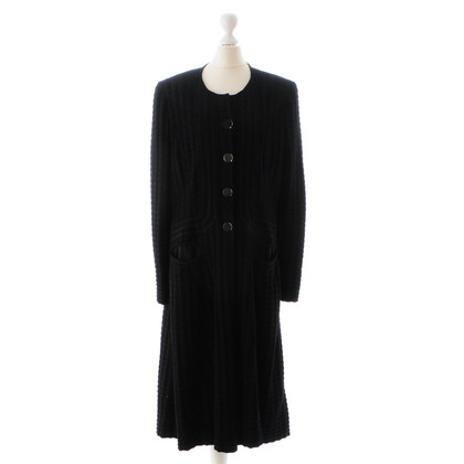 Giorgio Armani Black sweater coat