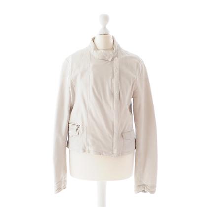 Day Birger & Mikkelsen White leather jacket