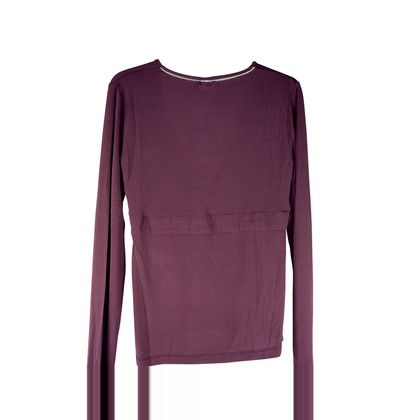 John Galliano Draped top in silky rayon