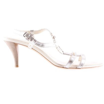 Tod's Silver sandal