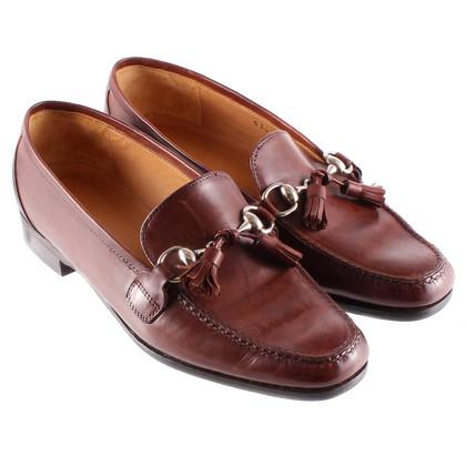 Andere merken Bruin loafer door Lorenzo Banfi