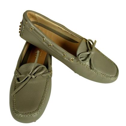 Car Shoe Neue Loafer aus edlem Hirschleder in der Farbe Taupe  229
