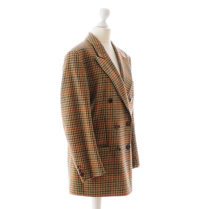 Burberry Prorsum Il modello di pied de poule-blazer