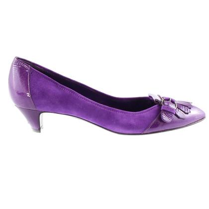 Sergio Rossi Purple pumps
