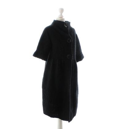 Schumacher Black wool coat