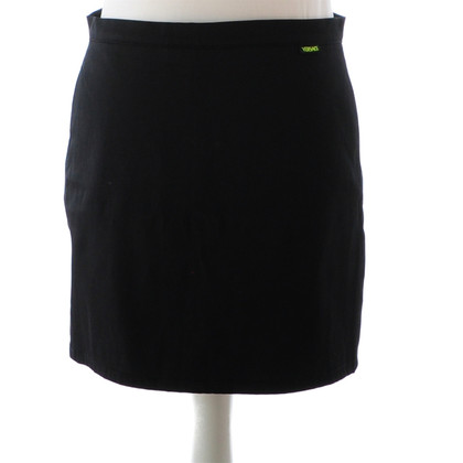 Versace Black mini skirt