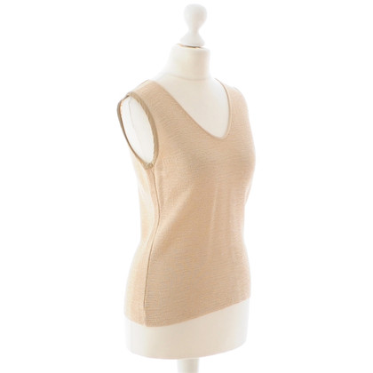 Armani Collezioni Gold-coloured top