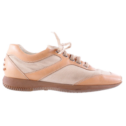 Hogan Beige lace-up shoes