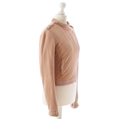 Other Designer Supertrash - pink leather jacket