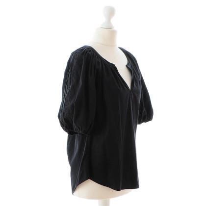 Diane von Furstenberg Black blouse