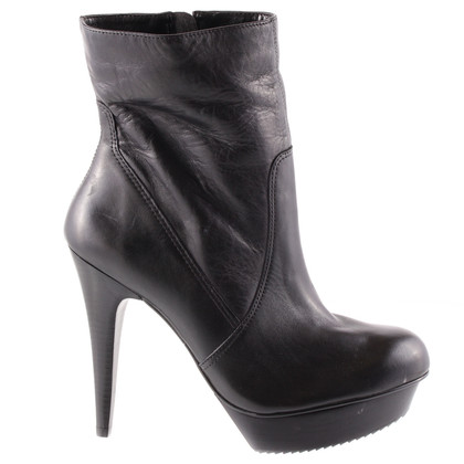 Other Designer Via UNO - plateau ankle boots