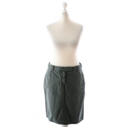 Armani Jeans Green cotton skirt
