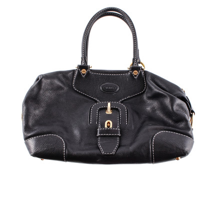 Tod's Black leather handle bag