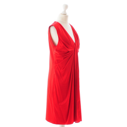 Hugo Boss Red silk dress