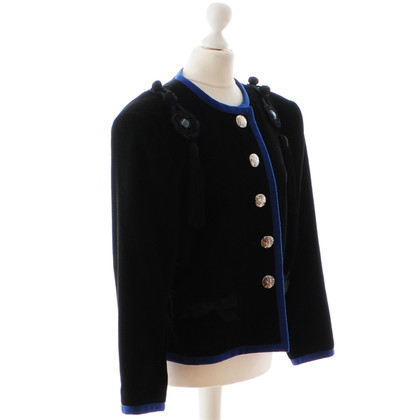 Yves Saint Laurent Cord jacket from 1988 with playful applications