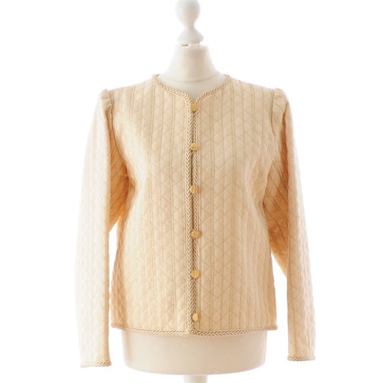 Yves Saint Laurent Jacket cream-gold