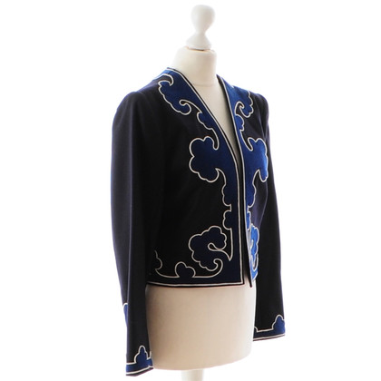 Yves Saint Laurent Black bolero jacket
