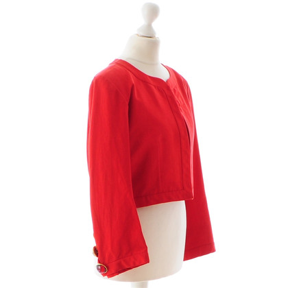 Yves Saint Laurent Red bolero jacket